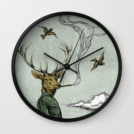 Cavalry Wall Clock