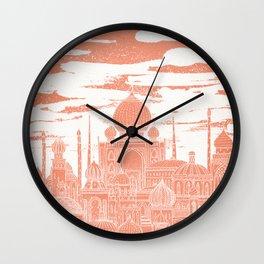Venus Celestial City Wall Clock