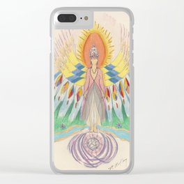 Protecting Spirit Clear iPhone Case
