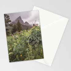Wildflower Landscape Photography | Waterton Alberta | Canadian Mountains Stationery Cards
