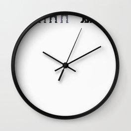 Supernatural pixels Wall Clock