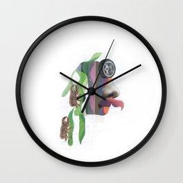 Trepa por mi pelo Wall Clock