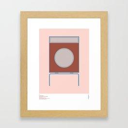 Braun L2 Speaker - Dieter Rams Framed Art Print