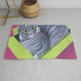 Cat in a Box Rug