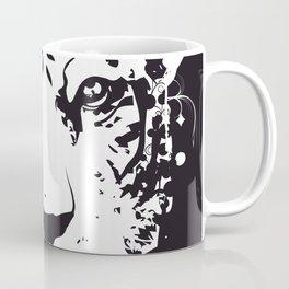 white graffiti tiger head Coffee Mug