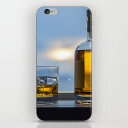 Evening Cocktail on Ice iPhone Skin