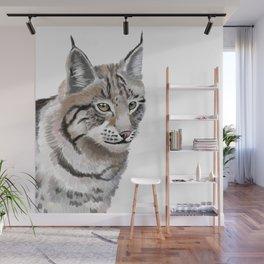 Lynx Cat Wall Mural