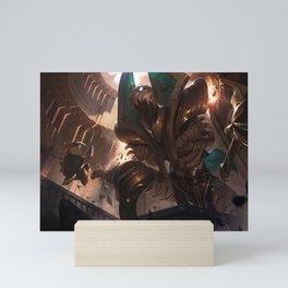 Risen Fiddlesticks League of Legends Mini Art Print