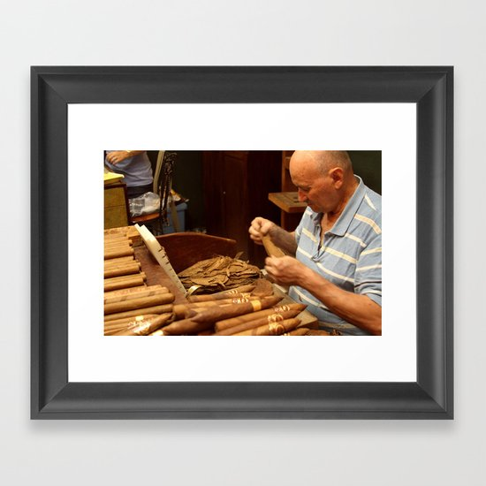 Tabaquero Framed Art Print