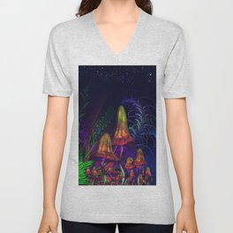 Happy Birthday Terence Mckenna Unisex V-Neck