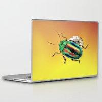 beetle Laptop & iPad Skins featuring Beetle by Ganech joe