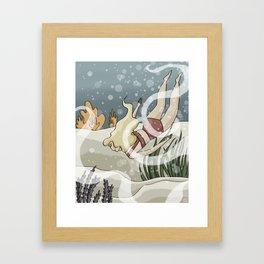 Bottom of the Sea II Framed Art Print