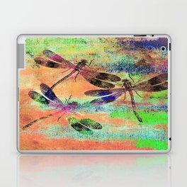Mauritius Vintage Dragonflies Colours C Laptop & iPad Skin