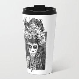 Sugar Skull - Día de Muertos - Day of the Dead Travel Mug