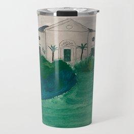 Green landscape Travel Mug
