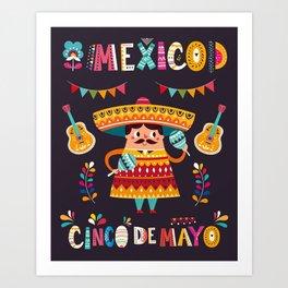 Cinco de Mayo – Mexico Art Print