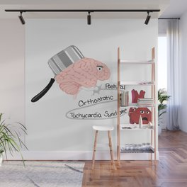 Postural Orthostatic Tachycardia Syndrome Wall Mural