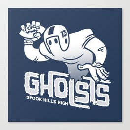 Spook Hills Gholsts Canvas Print