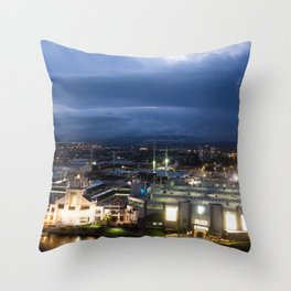 Pacific Fair At Night Throw Pillow