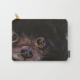 Black Pomeranian Carry-All Pouch