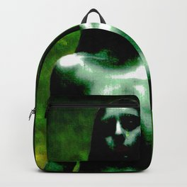 "NUDE ""walk in green"" Backpack"