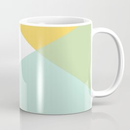 Geometrics - citrus & concrete Coffee Mug
