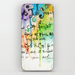 Im not sure what i saw.. iPhone Skin