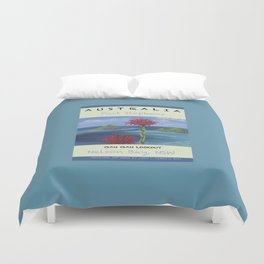 Art Travel Poster Gan Gan Duvet Cover