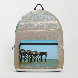 Turquoise Pier Backpack
