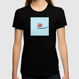 Cupcake Toothpaste on Toothbrush T-shirt