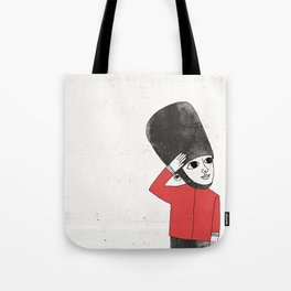 Little Soldier Tote Bag