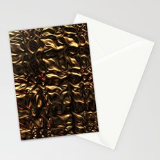 Liquid Gold Stationery Cards