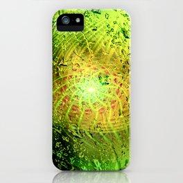 und viridis guttas twirls iPhone Case
