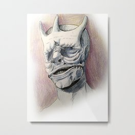 King of pain  Metal Print