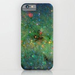 Celestial Cosmic Dusty Cloud Space Galaxy iPhone Case