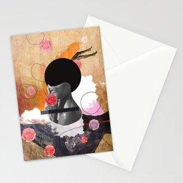 Contemporary fashionistas Stationery Cards