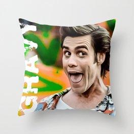 ace ventura gravy Throw Pillow
