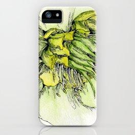 Watercolor Helleborus iPhone Case