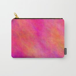 Violet Red Color Carry-All Pouch