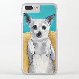 Rat Terrier Clear iPhone Case