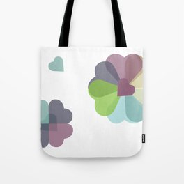 Heartflowers1 Tote Bag
