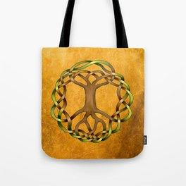 World Tree (Yggdrasil) Knot Tote Bag