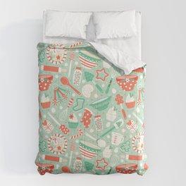 Christmas Baking Comforters