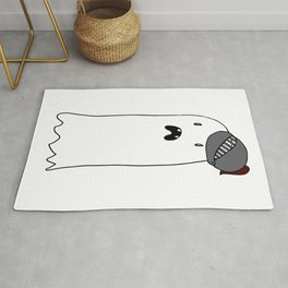 Knight Ghost Rug