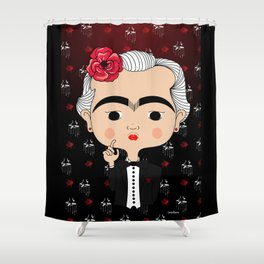 The Godmother Kahlo Shower Curtain