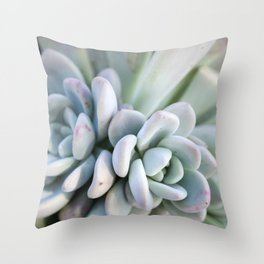 Succulent III Throw Pillow
