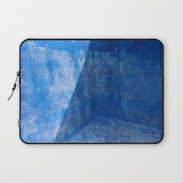 Blue Pool Shadow Abstract 1 Laptop Sleeve
