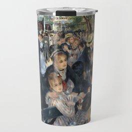 Pierre-August Renoir's Bal du moulin de la Galette Travel Mug
