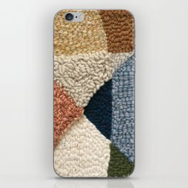 Interests Collide Rug Hooked Art iPhone Skin