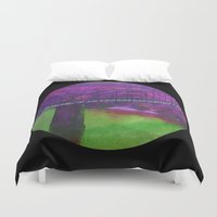 bridge Duvet Covers featuring Bridge by Last Call